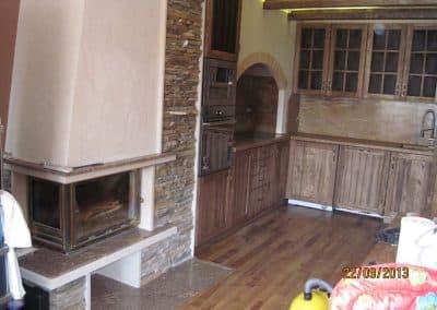 кухненски плот камък 42
