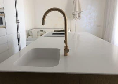 кухненски плот камък 55